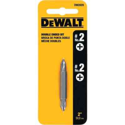 DeWalt Phillips #2 Phillips Double-End Screwdriver Bit