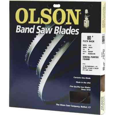 Olson 80 In. x 3/16 In. 10 TPI Regular Flex Back Band Saw Blade