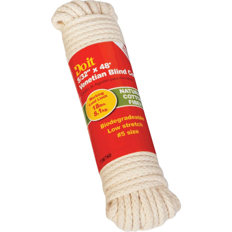 Do it 48 Ft. L. x 5/32 In. Diameter Cotton Fiber Venetian Blind Cord Image 1